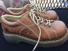 Doc Martens Air Cushion Soles Women's Shoes US 7 Side Flowers