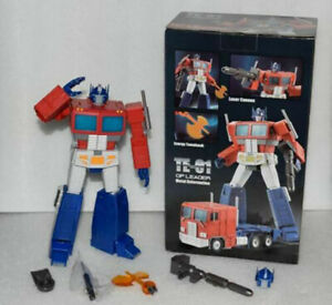 New Transform Element TE-01 3.0 version OP Commander Optimus Prime Action Figure