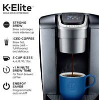 Keurig K-Cup Pod Maker, with-Elite K Single Serve Strong Temperature Control