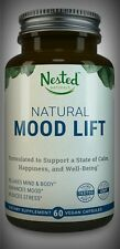 All Natural Mood Support Vit B5 B6 5-HTP L-Methionine Magnesium 60 Day Supply
