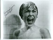 Janet Leigh Autograph Actress Horror Movie Psycho Touch Of Evil Signed Photo