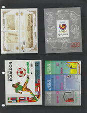 ECUADOR-BEAUTIFUL SELECTION -MULTIPLES-MNH-VERY FINE--SOME SETS-#1015