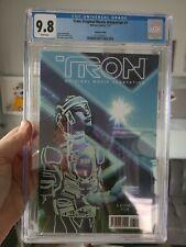 Tron: Original Movie Adaptation #1 Variant Edition CGC 9.8 2011  Larocca RARE!!!