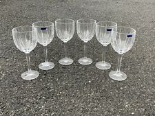 Set Of 6 Large Waterford Marquis Water Wine Glass Goblets. Made In Germany