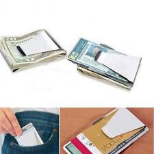 Clip Fermasoldi di Carta Graffetta Credito Portatile Banconote Portafoglio oq