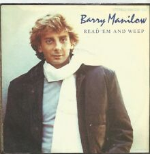 Barry Manilow-read 'em and Weep/once Voice (Live) (Vinile-Single 1983)!!!