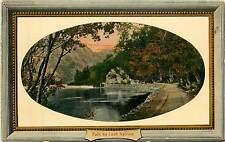 UK, Scotland, Loch Katrine Early Postcard