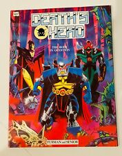 DEATH'S HEAD THE BODY IN QUESTION MARVEL GRAPHIC NOVEL 1990 1ST PRINT NM-  HTF