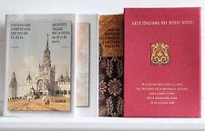 ARTE ITALIANA NEI MUSEI RUSSI cofanetto 3 volumi