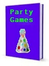 Party Games Children Teenagers Adult Large Groups E-book Full Resale Rights