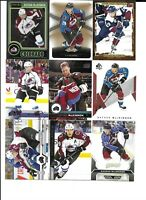 Colorado Avalanche 290 Card Sorted Lot MACKINNON FORSBERG SAKIC ROY No Dupes!