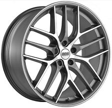 BBS CC-R graphit diamandgedreht 4 Felgen 19 Zoll CC2106 Audi TT + Typ 8J + 8S