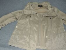 Talbots Jacket Size 6 Army Green Button Up Dressy SEXY NEW NWOT