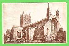 Vintage postcard. Tewkesbury Abbey, N.W., Gloucestershire