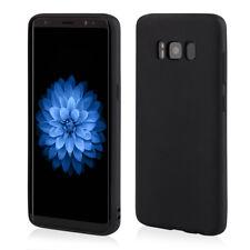 Slim Cover für Samsung S9 Case Schutz Hülle Silikon TPU schwarz matt