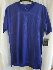 The Nike Tee Dry-fit Shirt Blue Size XL