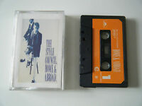 THE STYLE COUNCIL HOME & ABROAD CASSETTE TAPE 1986 PAPER LABEL POLYDOR UK