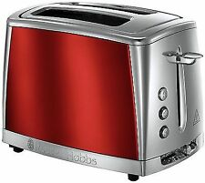 Russell Hobbs 23220 Luna Toaster 2 Slice High Lift 1500w in Red -