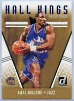 38/49 Karl Malone 2018-19 Donruss Basketball Hall Kings Press Proof #4 Card Jazz