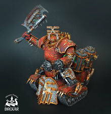 Khorne Lord of Skulls chaos space marines warhammer 40K * COMMISSION ** painting