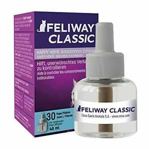 Feliway Feline Pheromone Diffuser Refill for Cat Anxiety and Stress Relief, 48ml