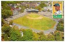 Jackie Robinson 1st Day Issue Stamp Doubleday Field Postcard Cooperstown NY (G)