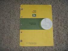 John Deere 7520 Tractor Factory Oem Technical Shop Service Repair Manual Tm1053