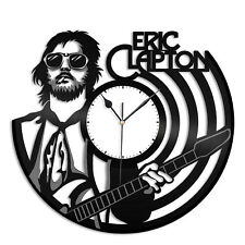 Eric Clapton Vinyl Wall Clock Unique Music Fashioned Office Home Room Decoration