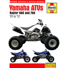 Yamaha Raptor Haynes Manual 2001-12 660 700 Workshop Manual
