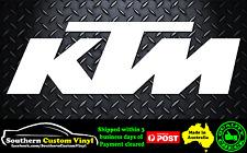 KTM Sticker Decal Small Car Window Sticker Decal
