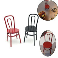 Hot Miniature Chair 1:12 Scale Furniture Dollhouses Chairs Mini Scenery Kitchen