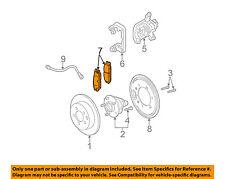 GM OEM Brake-Rear Pads 19209340
