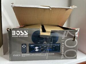 """Boss Audio Systems 656BCK Bluetooth CD/MP3/AM/FM Plus One Pair of 6.5"""" Speakers"""
