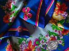 FOULARD silk  woman  vintage '90s  VERSACE ATELIER made in Italy rare