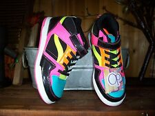 OCEAN PACIFIC GIRLS ATHLETIC SHOES SIZE 3 CASUAL DRESS SCHOOL SHOES BLACK PINK