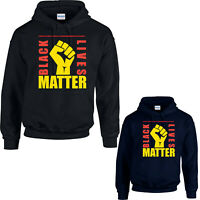 Black Lives Matter Hoodie, BLM Anti Racist Protest Justice Movement Gift Tee Top