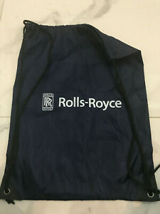 Rolls Royce Drawstring Bag Blue  44x 33cm water proof