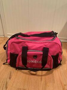 Pink Reebok Women's Gym / Duffle Bag