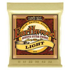 Ernie Ball Earthwood Light 80/20 Bronze Acoustic Guitar Strings .011-.052  2004