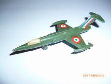 MINIATURA AEREO F 104 IN METALLO ANNI 80 RARITA'
