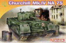 Dragon 7507 1/72 Plastic WWII British Churchill Mk. IV NA 75 Tank