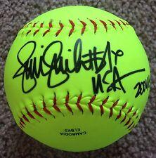 JENNIE FINCH Signed Autographed Softball w/ Olympic Insc, Worth, Team USA
