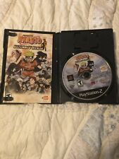 Sony Playstation 2 PS2 Naruto Ultimate Ninja Greatest Hits Game