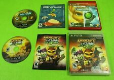 Ratchet & Clank All 4 One & Future: A Crack in Time (Sony PlayStation 3) 2 Games
