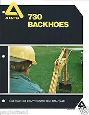 Equipment Brochure - Arps - 730 series - 731 732 - Backhoe (E2760)