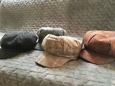 Newsboy cap Tweed Cap Peaky Blinders Baker Boy kids & adults FREE SHIPPING