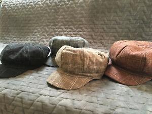 Newsboy cap Tweed Cap Peaky Blinders Baker Boy Flat Check Grandad kids & adults