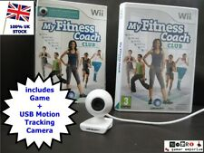 ULTIMATE Wii FIT fitness - My Fitness Coach Club inc Camera for Nintendo Wii / U