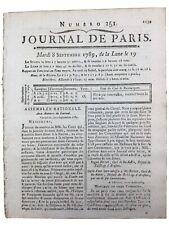 Saint Aubin 1789 Nord Avesnois Etroeungt Besse Gillion Révolution Française