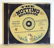 THE NOTTING HILLBILLIES - MARK KNOPFLER - YOUR OWN SWEET WAY  PROMO CD  MINT
